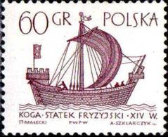 Pologne Poste N** Yv:1420 Mi:1567 Navire Frison Kogge - 1944-.... República