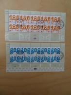 Schweiz Michel 1954/55 Kleinbogen Tagesstempel (6167) - Blocks & Kleinbögen