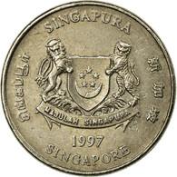 Monnaie, Singapour, 20 Cents, 1997, Singapore Mint, TB+, Copper-nickel, KM:101 - Singapour