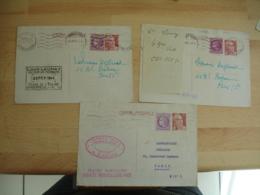 Lot Entier Postal Postaux Entiers Marianne Gandon 3 F 50 Complement 1 F 50 - Entiers Postaux