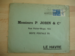 La Vache Qui Rit En Excursion Publicite Carnet Timbre Jeanne D Arc Sur Lettre - Marcophilie (Lettres)