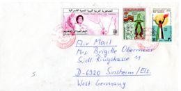 Lettre De Tripoli Vers Sinsheim, Avec Epreuce Couleur, Selon Scan, Lot 51155 - Libye