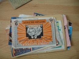Lot Billet Carnet Bilet De Loterie Tout En Photo - Billets De Loterie