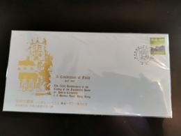 FDC ---- 1997 --- Celebration Of Faith Of Hong Kong  --- Private Cover - Hong Kong (1997-...)