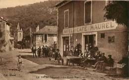 210319 - 12 LE TRUEL La Grande Rue - Hôtel Café MAUREL - Animation Vélo Tricycle Pub BYRRH - Autres Communes