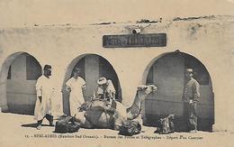 Algerie )  BENI   ABBES  - Extrème Sud Oranais  - Bureau De Postes Et Télégraphes  - Départ D' Un Courrier - Algerien