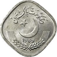 Monnaie, Pakistan, 5 Paisa, 1989, SUP, Aluminium, KM:52 - Pakistan