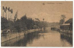 CHATELINEAU - La Sambre (péniche, Navigation Intérieure, Binnenscheepvaart) 1923 - Châtelet