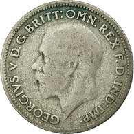 Monnaie, Grande-Bretagne, George V, 6 Pence, 1930, TB+, Argent, KM:832 - 1902-1971 : Post-Victorian Coins