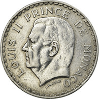 Monnaie, Monaco, Louis II, 5 Francs, 1945, TTB, Aluminium, Gadoury:MC135, KM:122 - Monaco