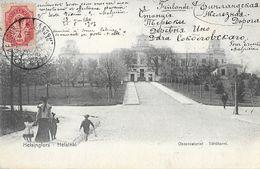 Helsigfors - Helsinki (Finlande) - Observatoriet (Observatoire) Tahlitorni 1907 - Finlandia