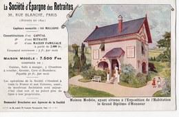 PARIS 09  LA SOCIETE D EPARGNE DES RETRAITES  RUE BLANCHE  PARIS  TLLUSTRATION  MALTESTE - District 09
