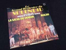 Vinyle 33 Tours  Le Grand Orchestre Du Splendid Enregistrement Public Théâtre De La Porte St.Martin La Salasa Du Démon M - Vinyles