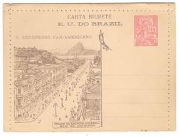 15449 -  8 CONGRESSO PAN AMERICANO - Entiers Postaux