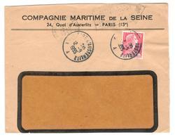 15451 - GARE D AUSTERLITZ - Marcophilie (Lettres)