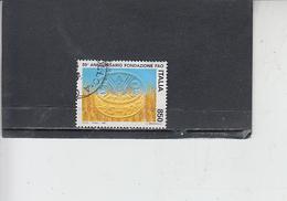 ITALIA  1995 -  Sassone 2187° - FAO - Alimentazione - 1946-.. République