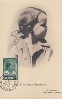 Carte  Maximum  BELGIQUE   Prince   BAUDOIN   1937 - Cartes-maximum (CM)
