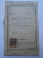 ZA188.1   Passbook - Livret Bancaire - Hungary  ARAD  Békéscsaba - 1907-1923 (Korona - Leu) - Chèques & Chèques De Voyage
