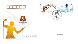 Fencing China Fdc - Escrime