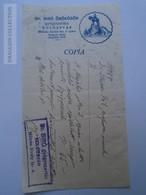 ZA188.3  Medical Prescription Médicale - Dr. Bíró örökösök - Pharmacie Pharmacy  Kolozsvár Hungary 1942 Steiner Pál - Old Paper