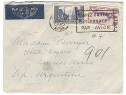 15458 - Pour L'Argentine - Poste Aérienne