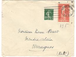 15459 - SERVICE DE SANTE - Marcophilie (Lettres)