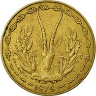 Monnaie, West African States, 10 Francs, 1979, TTB, Aluminum-Nickel-Bronze - Côte-d'Ivoire