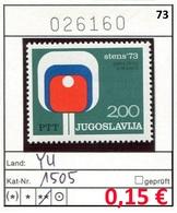 Jugoslawien - Yougoslavie - Jugoslavija - Michel 1505 - ** Mnh Neuf Postfris - - 1945-1992 Sozialistische Föderative Republik Jugoslawien