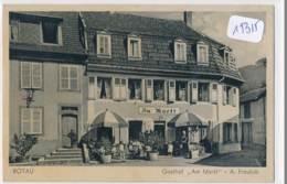 CPA ( Période IIIème Reich)  19315 - 67- Rotau ( Rothau) Gasthof Am Markt -A Fraulob (légèrement Tachée)  Envoi Gratuit - Rothau