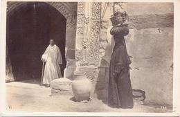 Seltene ALTE  Foto- AK   Orientalische Volkstypen / Araberin  - Ca. 1920 - Cartes Postales