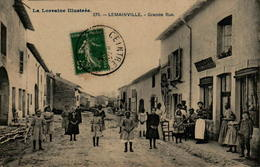 54 - LEMAINVILLE - Grande Rue - Francia