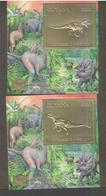 Guyana 1994 Prehistorics Dinosaurs   Gold - Preistorici