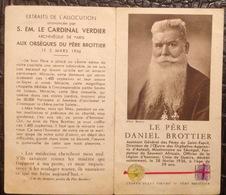 IP. 96. Image Pieuse Et Relique Du Père Daniel Brottier - Imágenes Religiosas