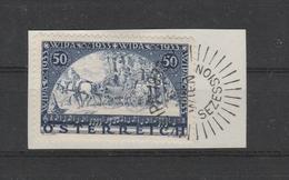 WIPA Mi. Nr. 555, Schön Gestempeltes Briefstück - 1918-1945 1ère République