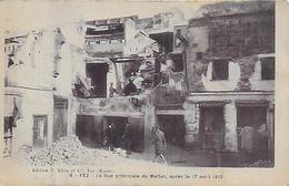 Maroc )  FEZ  - La Rue Principale Du Mellah Après Le 17 Avril 1912 - Fez