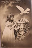 """Kinder, Taube, Brief"" 1911, PFB 133-2  ♥   - Kinder"