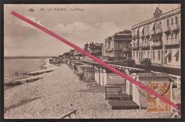 """76 LE HAVRE - SAINTE-ADRESSE -- Cabanes De Plage _ Villas Et Gouvernement Belge """" Dufayel """" En 1932 - Sainte Adresse"""