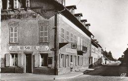 "MOLSHEIM-Cp Glacée-avenue De La Gare Et Brasserie ""AU Soleil"" - Molsheim"