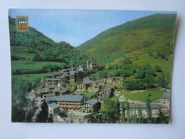 Andorra. Os De Civis (Lleida). Vista General. Iscla Escudo De Oro 7 Postmarked 1984 - Andorre