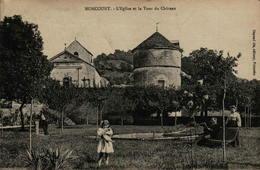 52 - NONCOURT - L'Eglise Et La Tour Du Château - Autres Communes
