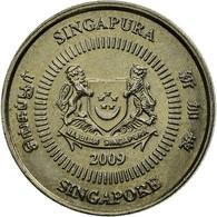 Monnaie, Singapour, 10 Cents, 2009, Singapore Mint, TTB, Copper-nickel, KM:100 - Singapour