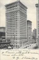 Philadelphia Pa (Pennsylvania) - Land Title And Trust Building - Carte Dos Simple N° 3504 - Philadelphia
