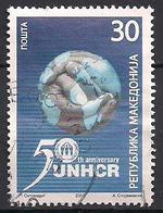 Mazedonien  (2001)  Mi.Nr.  214  Gest. / Used  (3ai18) - Mazedonien