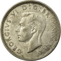 Monnaie, Grande-Bretagne, George VI, 6 Pence, 1939, TTB, Argent, KM:852 - 1902-1971 : Post-Victorian Coins