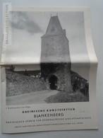 ZA188.16  Rheinische Kunststätten -BLANKENBERG 1959 - Torurism Brochure - Dépliants Touristiques