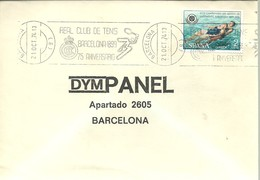POSTMARKET  ESPAÑA  1974 - Tenis