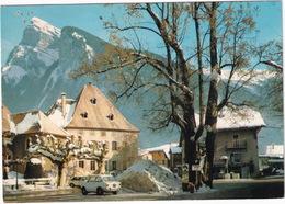 Samoens: FIAT 850 - Dans Le Fond, La Criou (2267 M.) - Haute-Savoie - Toerisme