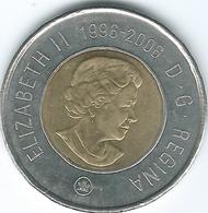 Canada - Elizabeth II - 2006 - 2 Dollars - 10th Anniversary Of The Toonie - KM836 - Canada
