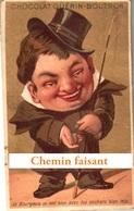 Chromo Chocolat GUERIN-BOUTRON - Le Bourgeois... - Scans Recto-verso - Guerin Boutron