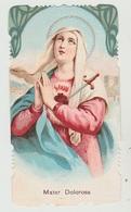 SANTINO  - IMAGE PIEUSE - DEVOTIONAL IMAGES   MATER DOLOROSA (ACQUISTO MINIMO 4 SANTINI) - Imágenes Religiosas